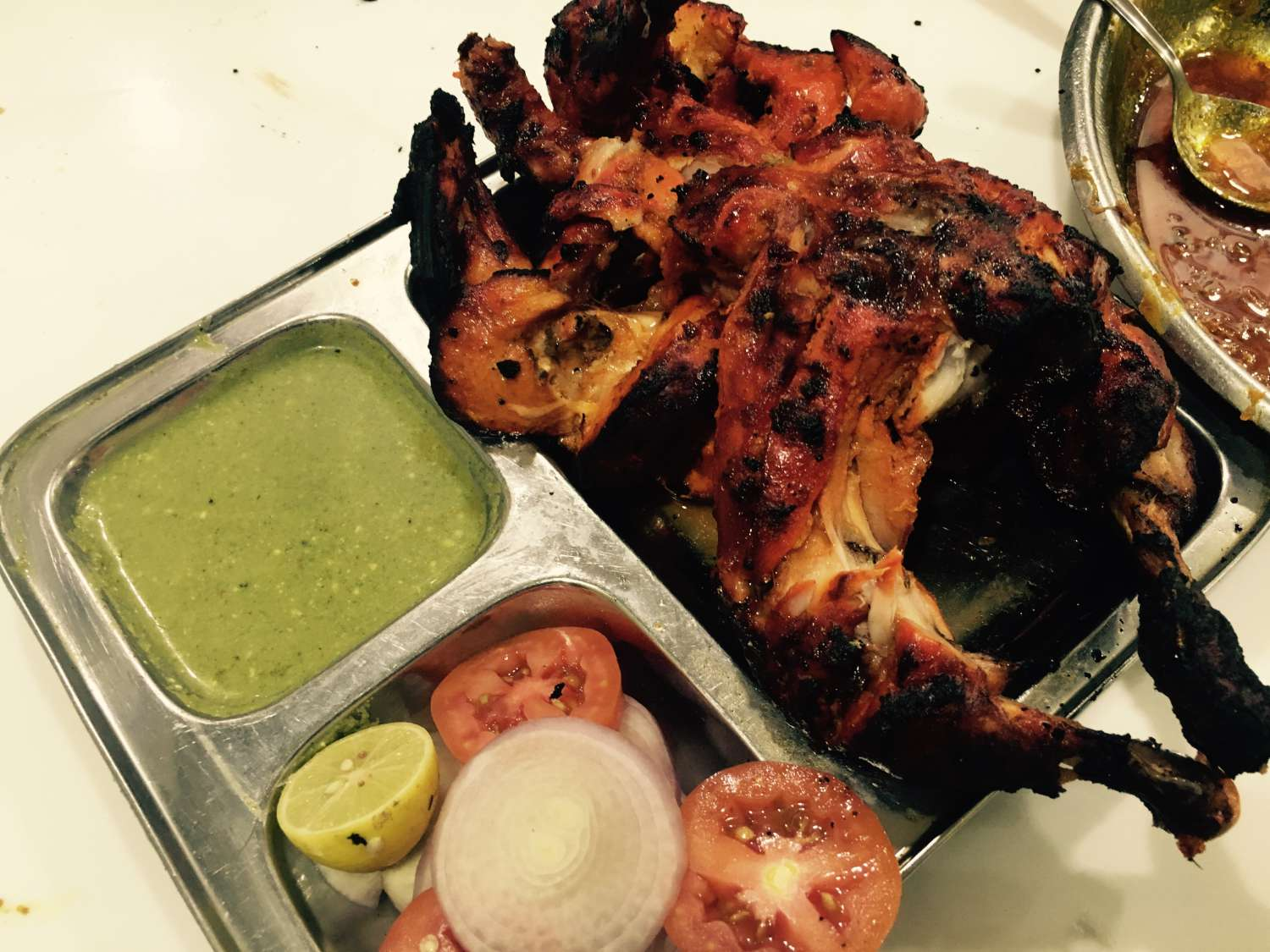 Food Tour in Jaipur - Full Tandoori Chicken
