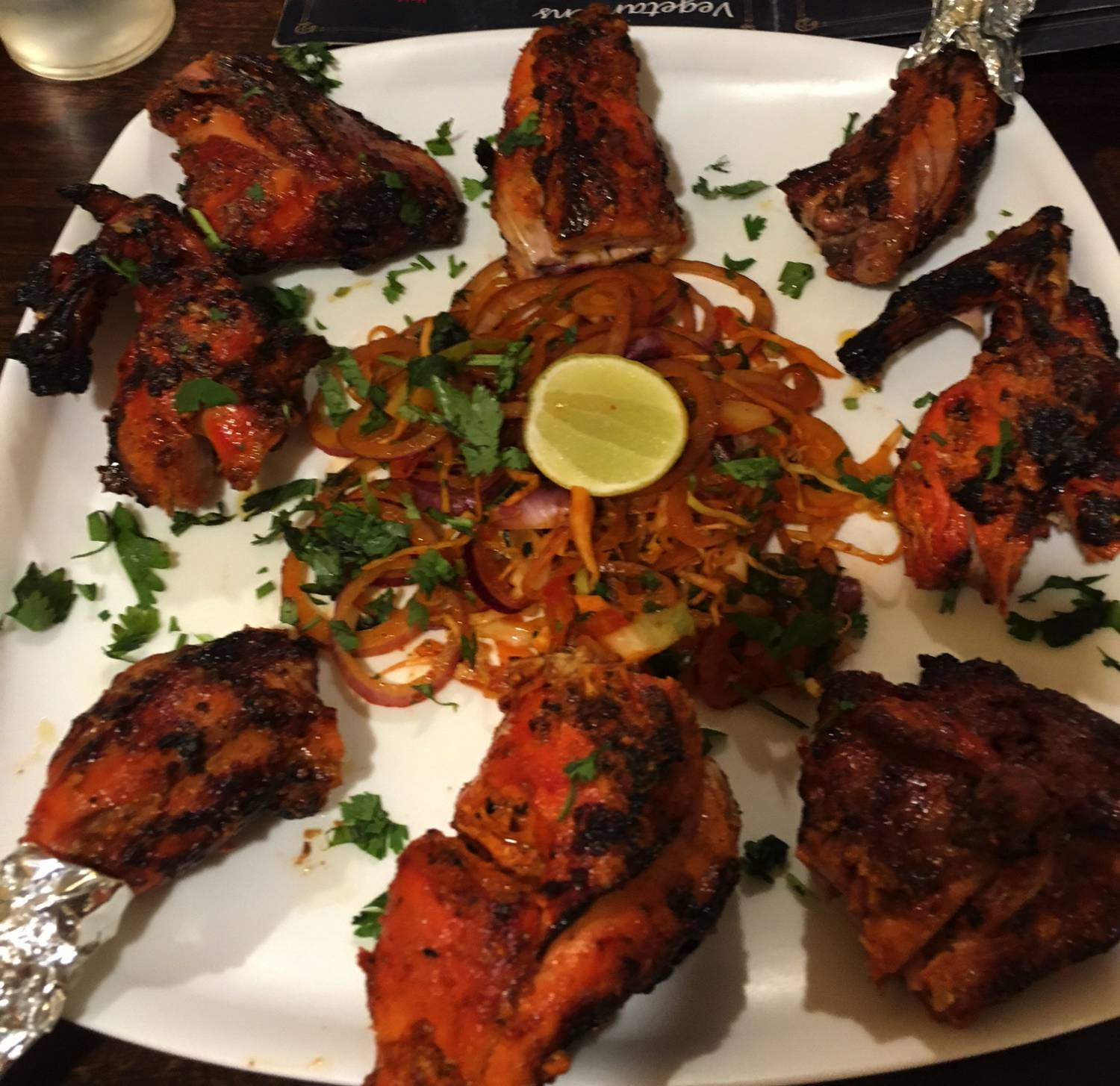 Food Tour in Jaipur - Tandoori Chicken