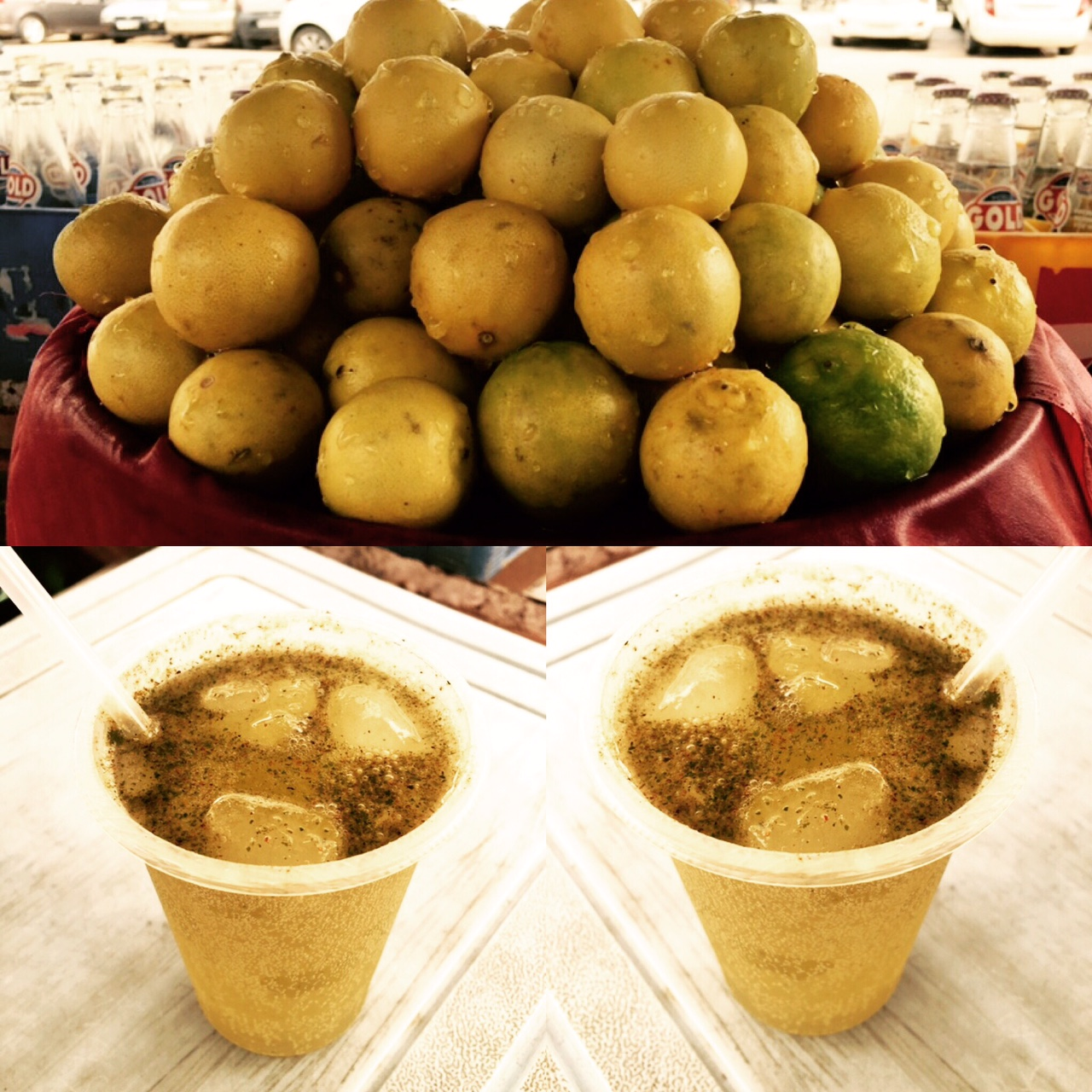 Jaipur Food Tour - Lemon Water